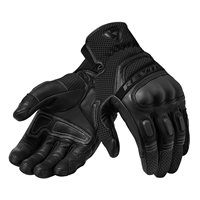 Revit Dirt 3 Motorcycle Gloves (Black)
