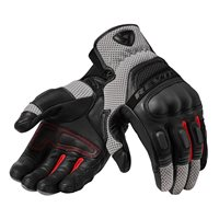 Revit Dirt 3 Motorcycle Gloves (Black|Red)