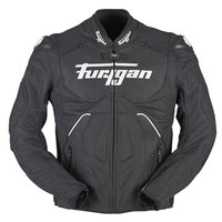 Furygan Raptor Evo Leather Jacket (Black|White)
