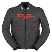 Furygan Raptor Evo Leather Jacket (Black|Red)