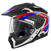 Nolan N70-2X Grandes Alpes N-Com Helmet (Black|White|Blue|Red)