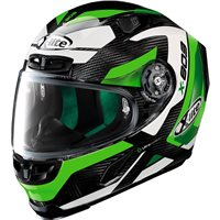 X-Lite X-803 Ultra Carbon Mastery Helmet (Carbon|Green)
