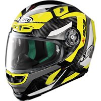 X-Lite X-803 Ultra Carbon Mastery Helmet (Carbon|Yellow)