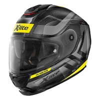 X-Lite X-903 Ultra Carbon Airborne Helmet (Carbon|Yellow)