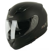 Nitro N23 Motorcycle Helmet (Satin Black)