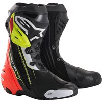 Alpinestars Supertech R Motorcycle Boot (Black/Red/Yellow)