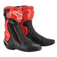 Alpinestars SMX Plus V2 Motorcycle Boot (Black|Red)