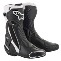 Alpinestars SMX Plus V2 Motorcycle Boot (Black|White)