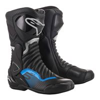 Alpinestars SMX-6 v2 Motorcycle Boot (Black|Grey|Blue)