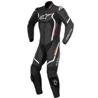 Alpinestars STELLA MOTEGI v2 One Piece Leathers (Black/White/Fluo Red)