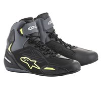 Alpinestars Faster 3 Drystar Shoes (Black|Grey|Yellow)