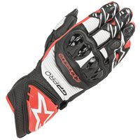 Alpinestars Gp Pro R3 Motorcycle Glove (Black|White|Red)