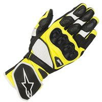 Alpinestars SP-1 v2 Motorcycle Glove (Black|White|Yellow)