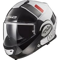 LS2 FF399 Valiant Prox Helmet (White|Red)