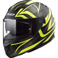 LS2 FF320 Stream Evo Jink Helmet (Matt Black|Hi-Vis Yellow)