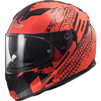 LS2 FF320 Stream Evo Lava Helmet (Fluo Orange|Black)
