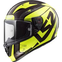 LS2 FF323 Arrow C Evo Sting Helmet (Black|Hi-Vis Yellow)