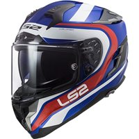 LS2 FF327 Challenger Fusion Helmet (Blue|Red)