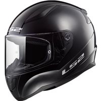 LS2 FF353 J Rapid Mini Kids Helmet (Black)
