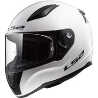 LS2 FF353 J Rapid Mini Kids Helmet (White)