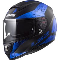 LS2 FF397 Vector Evo Sign Helmet (Matt Black|Blue)