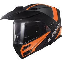 LS2 FF324 Metro Evo Rapid Helmet (Matt Black|Orange)