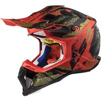 LS2 MX470 Subverter Claw Helmet (Matt Black|Red)