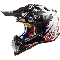 LS2 MX470 Subverter Emperor Helmet (Black|White|Red)