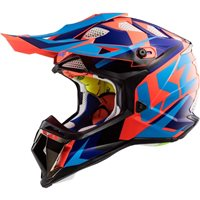 LS2 MX470 Subverter Nimble Helmet (Black|Blue|Orange)