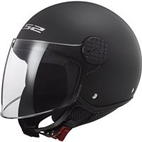 LS2 OF558 Sphere Open Face Helmet (Black)