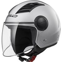 LS2 OF562 Airflow Helmet (Silver)