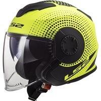 LS2 OF570 Verso Spin Helmet (Matt Hi-Vis Yellow)