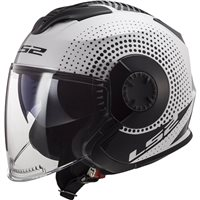 LS2 OF570 Verso Spin Helmet (White|Black)