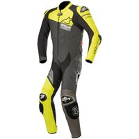 Alpinestars GP Plus Venom One Piece Leathers (Black|Yellow|Grey)
