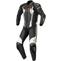 Alpinestars GP Force One Piece Leathers (Black|White)
