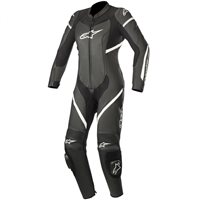 Alpinestars Stella Kira One Piece Leathers (Black/White)