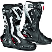 Sidi ST CE Motorcycle Boots (Black|White)