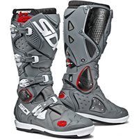 Sidi Crossfire 2 SRS Motocross CE Boots (Grey)