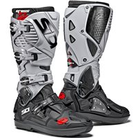 Sidi Crossfire 2 SRS Motocross CE Boots (Black|Grey)