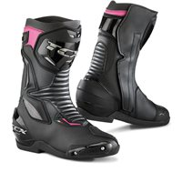 TCX SP-Master Ladies Motorcycle Boots (Black|Fuchsia)