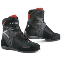 TCX Vibe Waterproof Motorcycle Boots (Black)