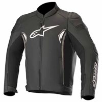 Alpinestars SP-1 v2 Leather Jacket (Black|Grey)