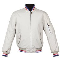 Spada Air Force One CE Textile Motorcycle Jacket (Ivory)