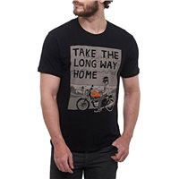 Royal Enfield Long Way Home T-Shirt (Black)