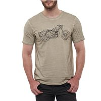 Royal Enfield Non Stop Classic T-Shirt (Beige)