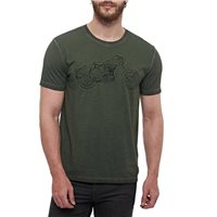 Royal Enfield Non Stop Classic T-Shirt (Olive)