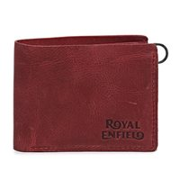 Royal Enfield Classic Leather Wallet (Red)