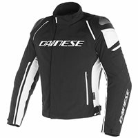 Dainese Racing 3 D-Dry Jacket (Black|White)