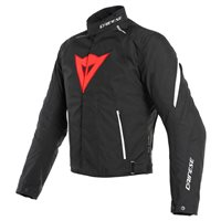 Dainese Laguna Seca 3 D-Dry Jacket (Black|Lava Red|White)