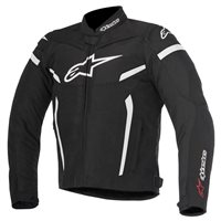 Alpinestars Gunner v2 WP Textile Jacket (Black|White)